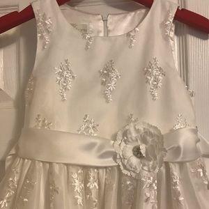White American princess dress brand new never worn